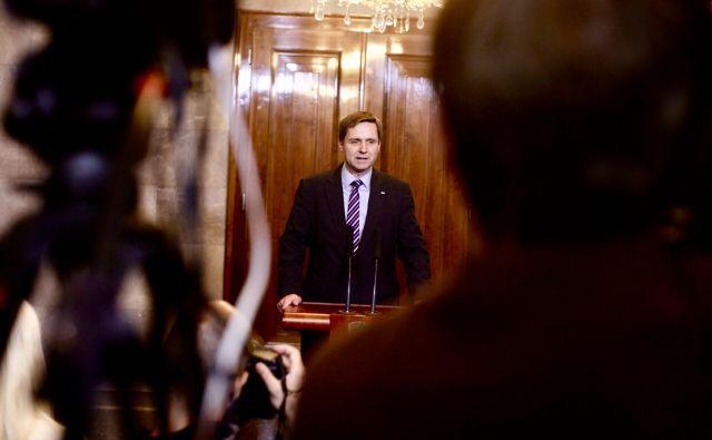 Igor Zorčič, vodja poslanske skupine SMC, se bo potegoval za mesto župana v Brežicah. V SMC za zdaj njegove kandidature ne komentirajo, tudi Zorčič se na naš klic ni odzval. FOTO: Voranc Vogel/Delo