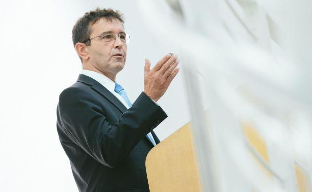 Nekdanji minister za javno upravo Boris Koprivnikar FOTO: Stan Olszewski