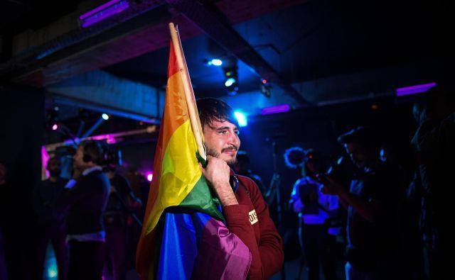Rezultat je za nevladnike in člane kolektiva LGBT+ veliko presenečenje. Foto: Daniel Mihailescu/Afp