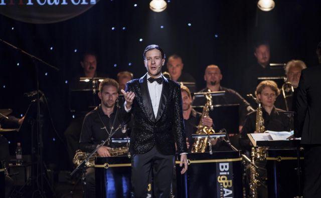 Koncert ob 10 letnici SiTi Teatra je vodil Klemen Slakonja.<br /> FOTO: Urška Boljkovac