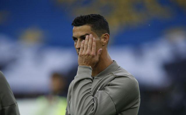 »Nisem kriv,« trdi Cristiano Ronaldo. FOTO: AP