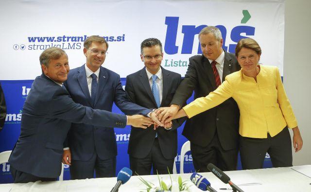 Koalicijske partnerje z usklajevanjem koalicijskih prioritet in proračuna čaka prvi preskus. FOTO: Jože Suhadolnik/Delo