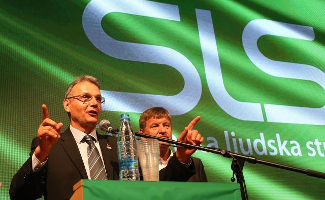 Kongres stranke SLS FOTO: Tomi Lombar/Delo