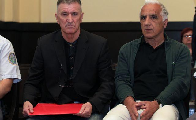 Kaj bo Samidu Osmanoviću in Danilu Goričanu prineslo novo sojenje? FOTO: Tadej Regent/Delo