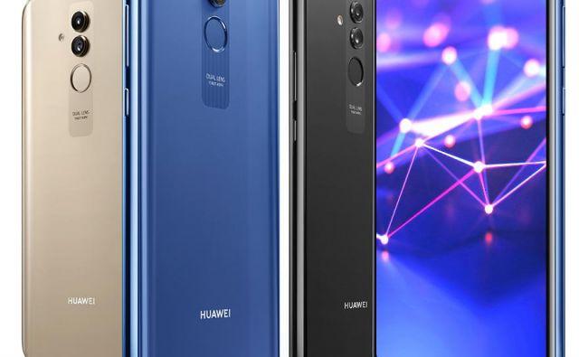 Tako kot smo pri Huaweiu že navajeni, je tudi tokrat glavni adut telefona kamera. FOTO: Huawei