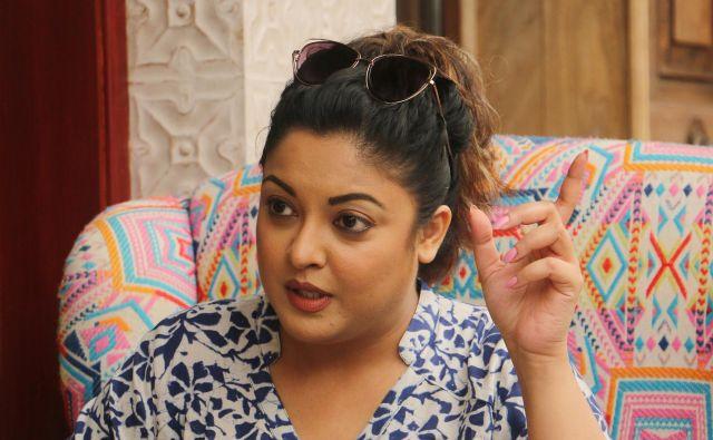 Igralka Tanushree Dutta je bila gostja več oddaj na indijskih televizijah, v katerih je povedala, kaj se ji je zgodilo pred desetimi leti, ko je snemala s slavnim Nano Patekarjem. FOTO: Reuters