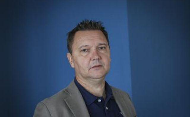 Tomaž Ambrožič, soustvarjalec slovenskih športnih pravljic FOTO: Jože Suhadolnik