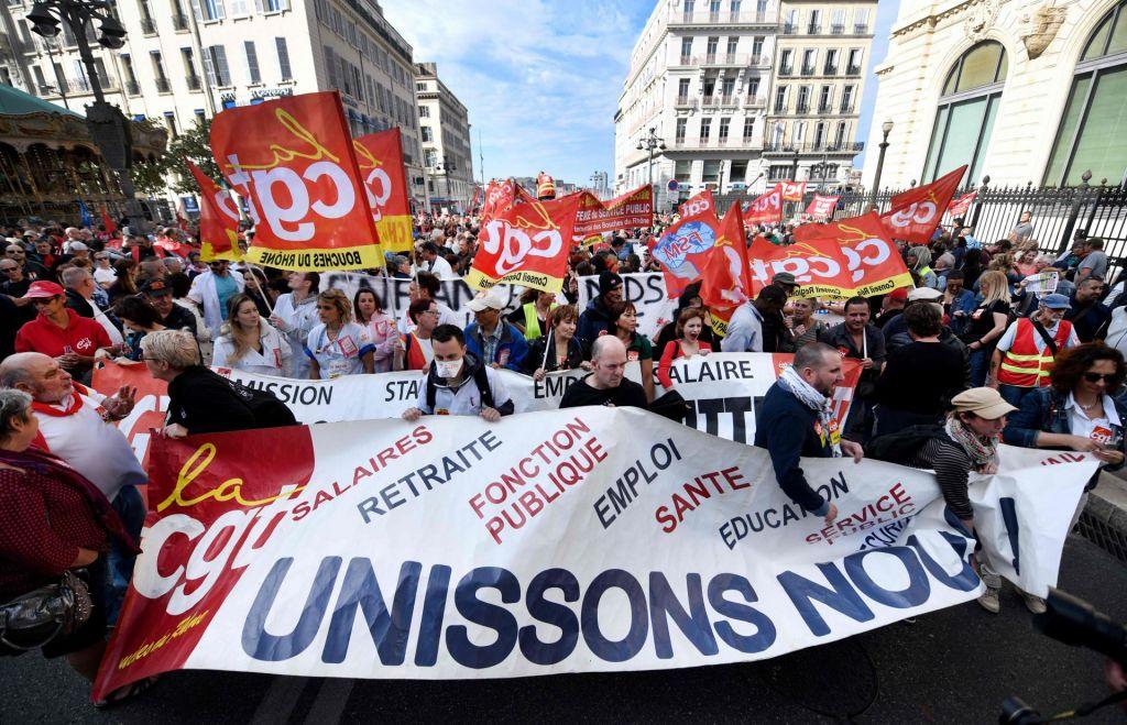 FOTO:Protesti v Franciji: »Upiramo se, ne le pritožujemo«