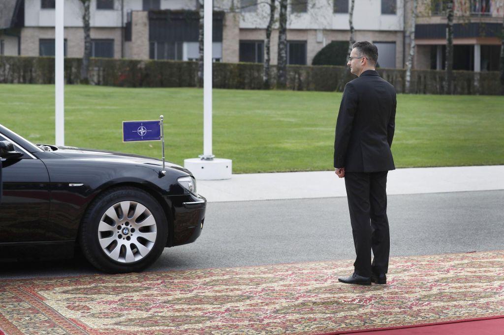 Šarčev zagovor članstva Slovenije v Natu
