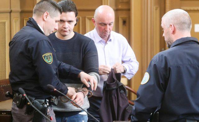 Vse, kar je imel Stefan Cakić z Gašperjem Tičem, je imel po mnenju sodnikov prostovoljno. FOTO: Marko Feist