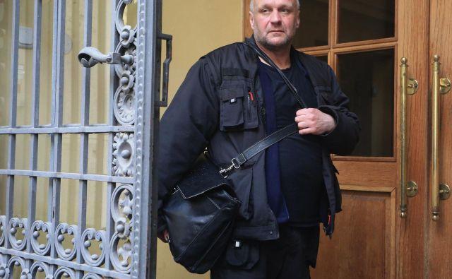 Stephen Casiraghi je pogost obiskovalec sodišč. FOTO: Tadej Regent/Delo