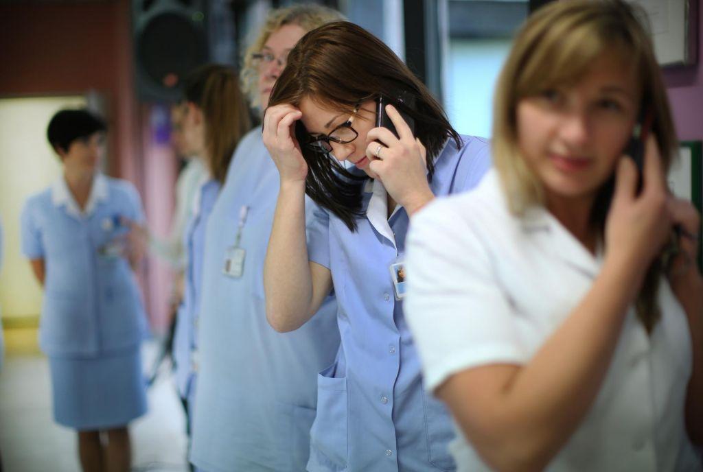 Medicinskim sestram res nižje plače?