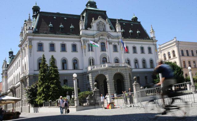 Z univerze v Ljubljani sporočajo, da je treba predlog ni ustrezen in je treba pripraviti novega. FOTO: Tomi Lombar/Delo