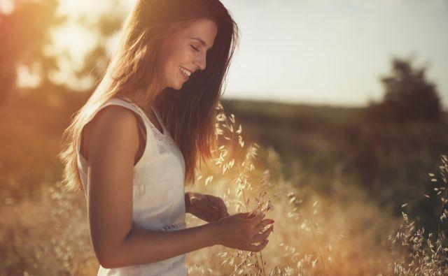 Sreča ni nekaj, kar se nam zgodi od zunaj. FOTO: Getty Images/istockphoto