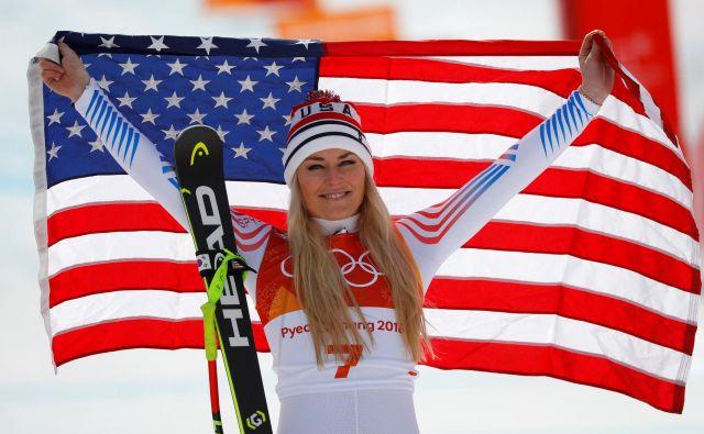 Lindsey Vonn bo nastopala le še v prihajajoči sezoni. FOTO: Reuters