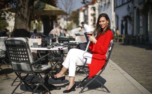 Slišim mnogo pozitivnih zgodb, kako nekatera slovenska podjetja cenijo nadarjene mlade, pravi Nina Troha. FOTO: Uroš Hočevar