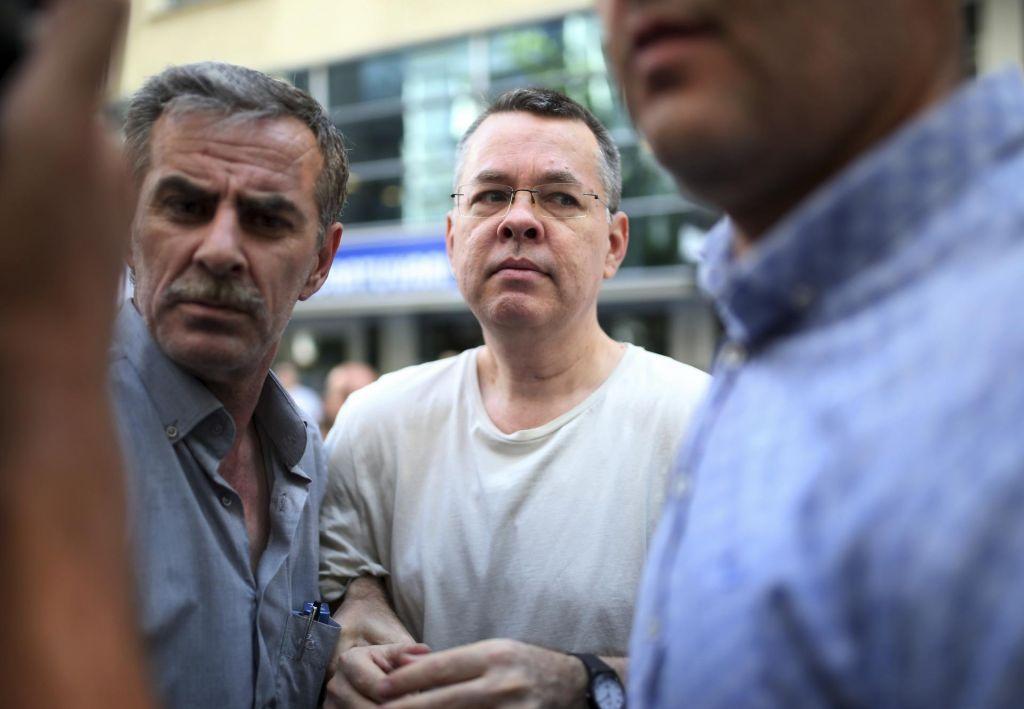 Ameriški pastor lahko zapusti Turčijo