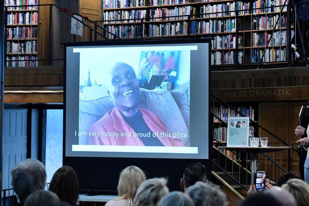 Alternativna Nobelova nagrada za književnost Maryse Condé z Guadalupa
