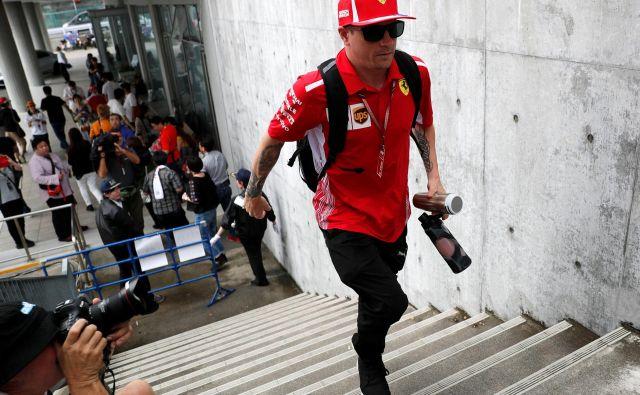Kimi se ni odzval najbolj spretno. FOTO: Toru Hanai/Reuters