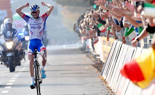 Thibaut Pinot je navdušil tifose. FOTO: AP