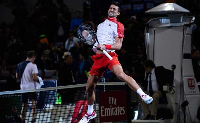 Novak Đoković ni v Šanghaju oddal niti niza. FOTO: Johannes Eisele/AFP