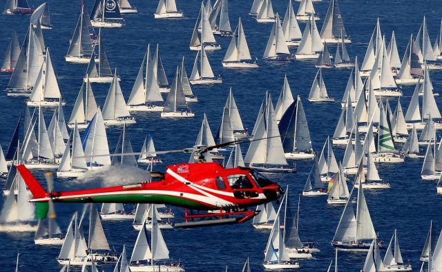 Barkovljanka v zadnjem obdobju pritegne vsako leto okrog 2000 jadrnic. FOTO: Tomi Lombar