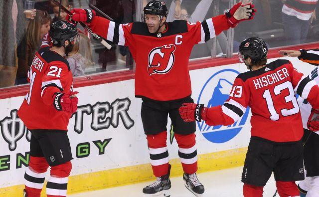 Kyle Palmieri je na začetku sezone nesporno prvo ime New Jerseya. FOTO: Reuters