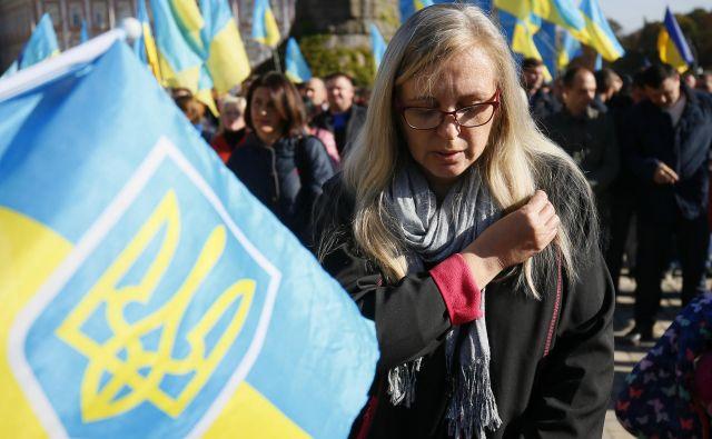 Na zahodu Ukrajine so uvedli moratorij na rusko kulturno proizvodnjo, ki bo trajal do konca ruske »agresije« na Ukrajino. Foto Gleb Garanich/Reuters