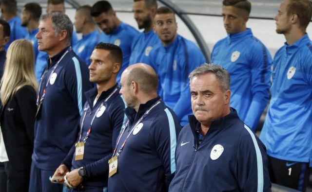 Na delo Tomaža Kavčiča bo treh zaporednih porazih v ligi narodov že letijo mnogi očitki. FOTO: Roman Šipić