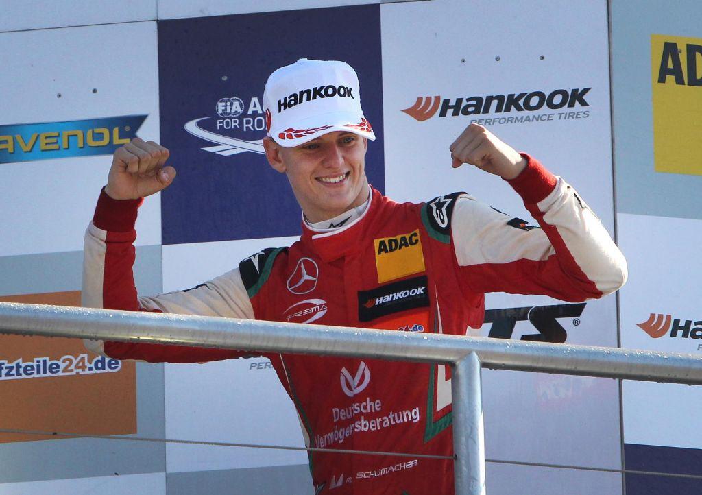Mick Schumacher kronani dedič Schumacherjeve dinastije