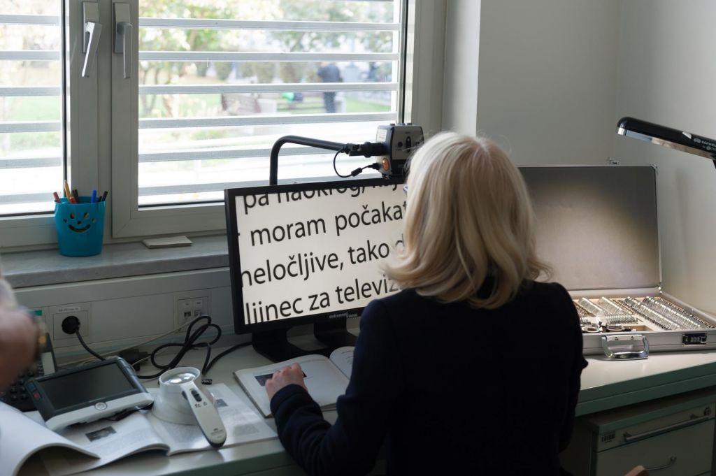 Vsak evro za rehabilitacijo slepih je dobro vložen