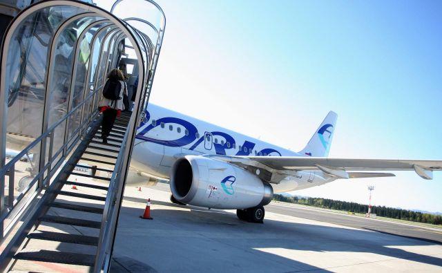 Bo Adria Airways bolj prijazna do strank? FOTO: Roman Šipić/Delo