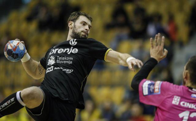 Novinec pri Gorenju Nikola Špelić ima že kar precej izkušenj z evropskih tekem. FOTO: Uroš Hočevar
