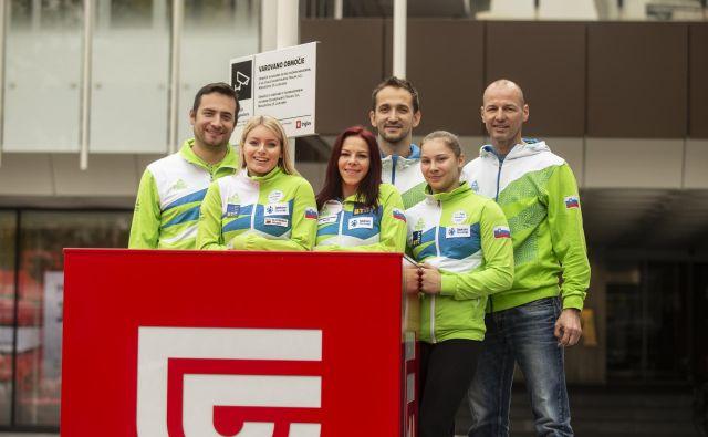Sašo Bertoncelj bo osamljeni jezdec pri moških, ženske pa se bodo na SP predstavile z ekipo. FOTO: Voranc Vogel/Delo
