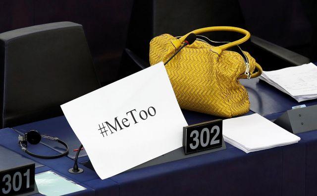 Nasilje je kljub popularnim gibanjem, ki stremijo k opolnomočenju žensk, kot je #jaztudi, prijavila le dobra polovica poslank in tretjina parlamentarnih uslužbenk. FOTO: Christian Hartmann/Reuters
