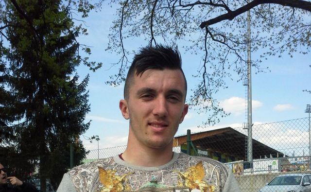 Alen Ožbolt je bil s tremi goli v kvalifikacijah najboljši strelec Slovenije. FOTO: Drago Perko