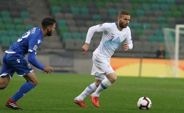 Nejc Skubic je prispeval mojstrski gol za končni izid 1:1. FOTO: Jože Suhadolnik/Delo