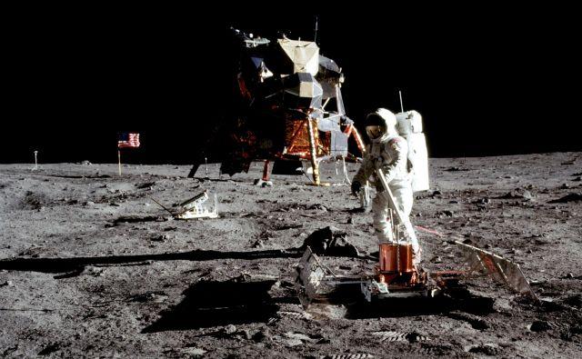 Buzz Aldrin na Luni FOTO: Nasa