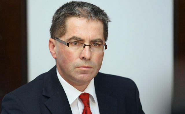 Stanislav Primožič bo naloge v. d. direktorja opravljal do konca novembra. FOTO: Ljubo Vukelič/Delo
