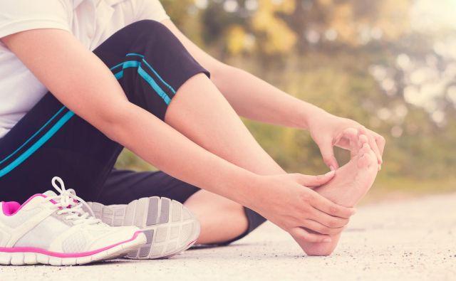 Masaža bolečega stopala Foto: Getty Images/istockphoto