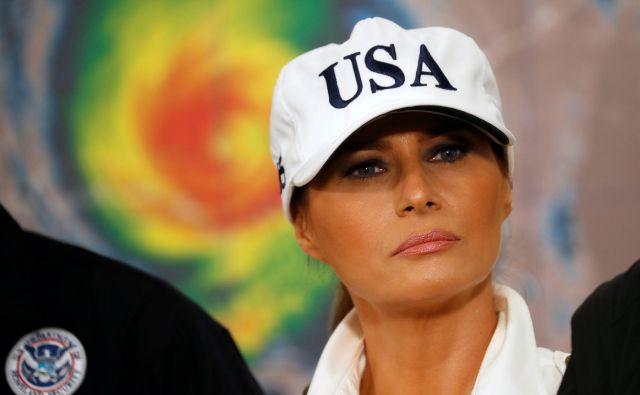 Letalo Melanie Trump je moralo zasilno pristati. FOTO: Reuters