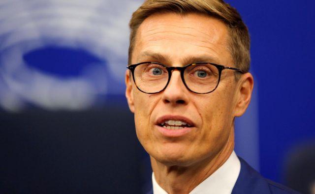 Nekdanji finski premier Alexander Stubb. FOTO: REUTERS/Vincent Kessler