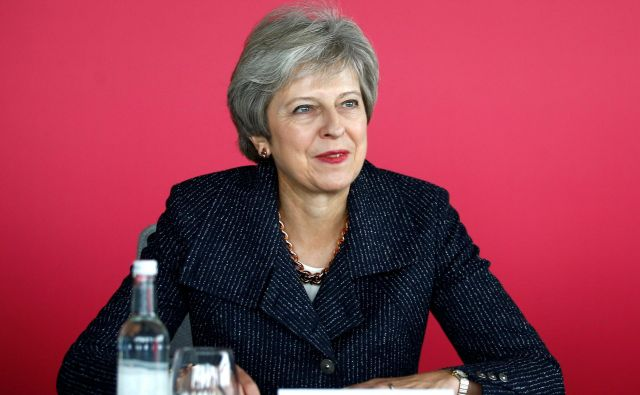 Britanska premierka Theresa May FOTO: AFP