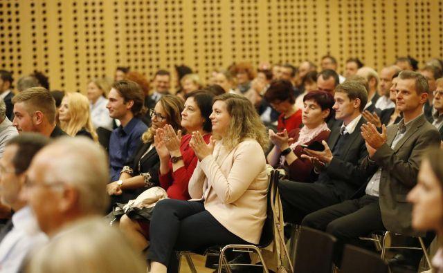 Trgovina ima v krožnem gospodarstvu pomembno vlogo, so ugotavljali na strateški konferenci o trgovini. FOTO Leon Vidic/Delo