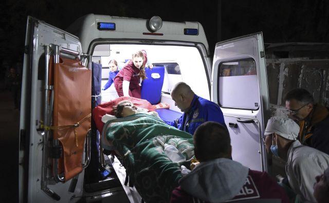 Ranjenih je bilo več deset ljudi. FOTO: Viktor Korotaev/Ap