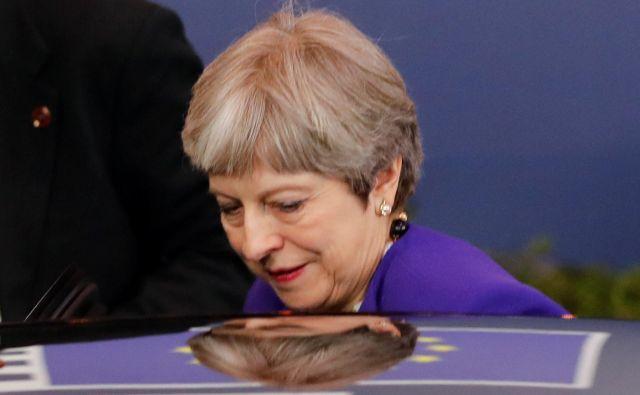 Izgubljeni v brezpotjih brexita. Bruselj čaka na nove predloge Therese May FOTO: Wolfgang Rattay/Reuters