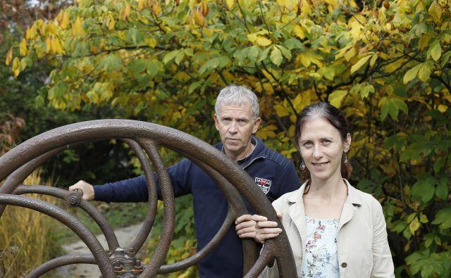 Jože Bavcon in Blanka Ravnjak vodita Botanični vrt Univerze v Ljubljani.
