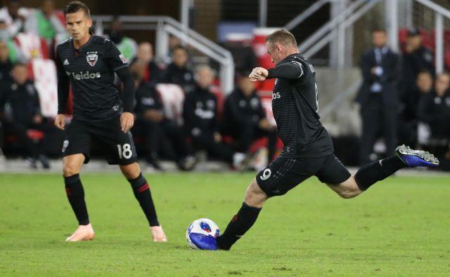 Wayne Rooney v najboljši različici. FOTO: Geoff Burke/Reuters