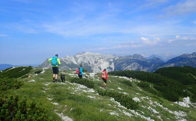 Pešpot Julijske Alpe bo vodila okoli Triglavskega narodnega parka. Foto Blaž Močnik