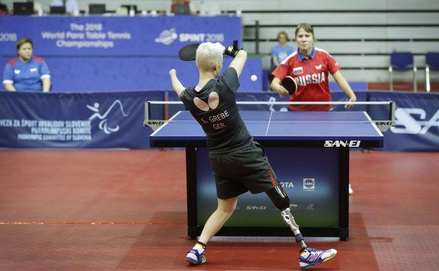 Na svetovnem prvenstvu v Celju je zbranih 324 športnikov invalidov iz 54 držav. Čeprav gre za tekmovanje na najvišji ravni, država zanj ni prispevala niti evra. FOTO: Leon Vidic/Delo